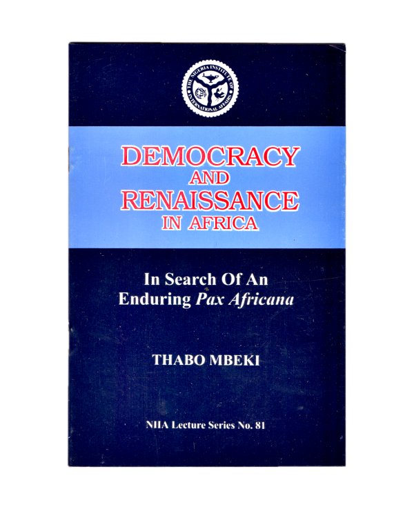 Democracy and Renaissance in Africa