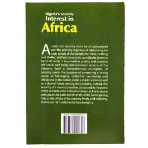 Nigeria Security interest in Africa