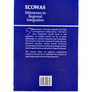 ECOWAS Milestones in Regional Integration 2