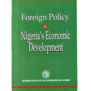 Foreign Policy & Nigeria's Economic Development